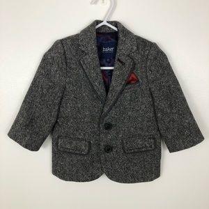 Baker By Ted Baker Boy's Wool Blend Tweed Blazer
